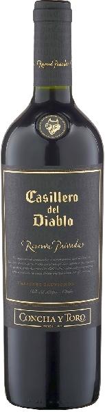 CYT Casillero del Diablo Reserva Privada 65% Cabernet Sauvignon, 35% SyrahChile Ch. Sonstige CYT