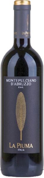 Mondo Del VinoLa Piuma Montepulciano D Abruzzo DOC Jg. 2018Italien Puglia Mondo Del Vino