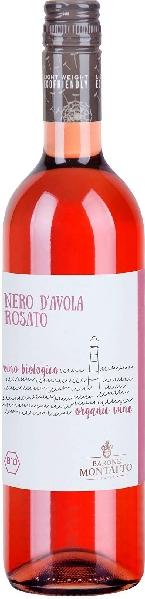 Barone MontaltoNero D Avola Rosato Organic Bio Jg. 2017Italien Sizilien Barone Montalto