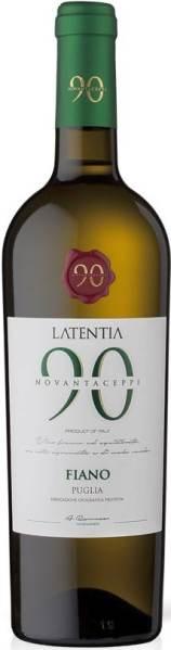 Latentia Winery SPANovantaceppi Fiano Puglia IGT Jg. 2017Italien Apulien Latentia Winery SPA