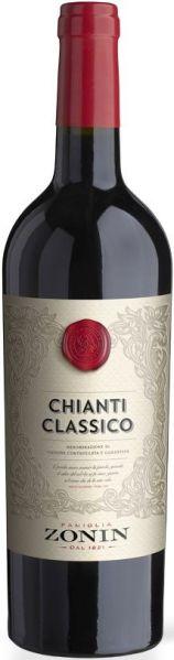 R470081850 Zonin Classici Chianti Classico Cuvee aus Sangiovese, Canaiolo B Ware Jg.2014