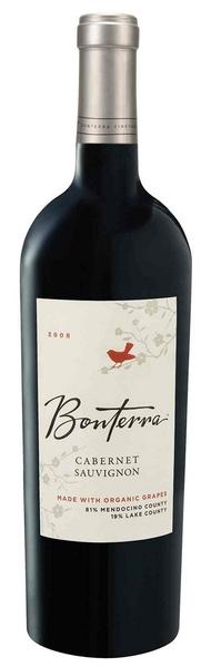 Bonterra Vineyards Cabernet Sauvignon North Coast (Trauben aus �kologischem Anbau) Jg. 2009-10U.S.A. Kalifornien Bonterra