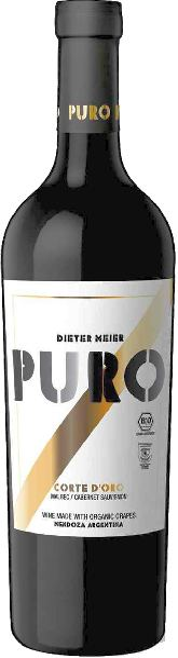 Dieter MeierPuro Corte D Oro Jg. 2012-13 40% Malbec, 33% Cbernet Sauvignon, 27% Petit VerdotArgentinien Mendoza Dieter Meier
