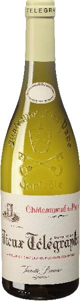 Vignobles BrunierVieux Telegraphe Blanc La Crau Jg. 2012Frankreich Rhone Vignobles Brunier