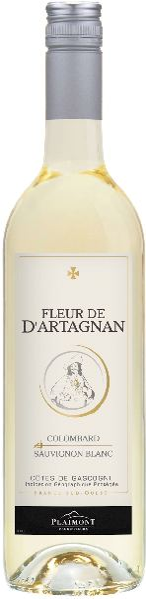 PlaimontFleur de d Artagnan Colombard Sauvignon Jg. 2016  60% Colombard, 40% SauvignonFrankreich Südfrankreich Languedoc Plaimont