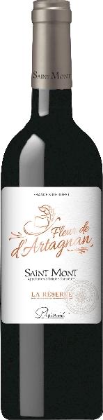PlaimontFleur de dArtagnan La Reserve Saint Mont Rouge  Jg. 2013Frankreich S�dfrankreich Languedoc Plaimont