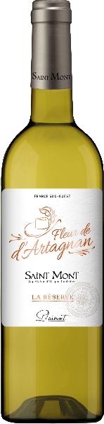 PlaimontFleur de d Artagna La Reserve Saint Mont Blanc Jg. 2014 60% Gros Manseng, 20% Arrufiac, 20% Petit CourbuFrankreich Südfrankreich Languedoc Plaimont