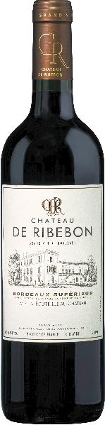 Cht. de RibebonChateau de Ribebon Bordeaux Superieur Jg. 2014Frankreich Bordeaux Cht. de Ribebon
