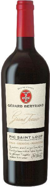 Gerard BertrandGrand Terroir Pic Saint Loup AOP Jg. 2015 Cuvee aus Syrah, Mourvedre, GrenacheFrankreich Südfrankreich Gerard Bertrand