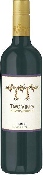 Columbia CrestTwo Vines Merlot Jg. 2011 93% Merlot, 7% Cabernet FrancU.S.A. Washington State Columbia Crest