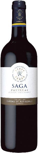 Baron Phil. de RothschildSaga Pauillac AOP Jg. 2009-10 Cuvee aus Cabernet Sauvignon, MerlotFrankreich Bordeaux Baron Phil. de Rothschild