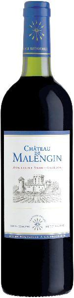 Baron Phil. de RothschildChateau de Malengin Jg. 2011-14 Cuvee aus Merlot, Cab. Franc, Cab. SauvignonFrankreich Bordeaux Baron Phil. de Rothschild