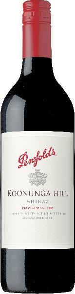 PenfoldsKoonunga Hill Shiraz Jg. 2015-16 limitiertAustralien South Australia Penfolds