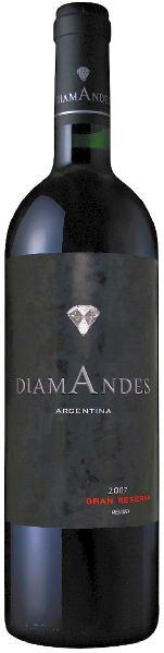 DiamandesDiamAndes Grande Reserve Malbec Cabernet Jg. 2013-14 Cuvee aus 75% Malbec, 25% Cabernet SauvignonArgentinien Mendoza Diamandes