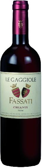 FassatiLe Gaggiole Chianti DOCG Jg. 2012 15% Canaiolo, 85% SangioveseItalien Toskana Fassati