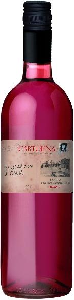 CartolinaPuglia Rosato IGT Jg. 2015Italien Apulien Cartolina