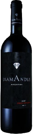 Diamandes Grande Reserve Malbec Cabernet Jg. 2012Argentinien Mendoza Diamandes