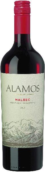 AlamosMalbec Jg. 2019 Cuveeaus%Malbec,%CabernetSauvignon,%Bonarda imHolzfassgereiftArgentinien Mendoza Alamos