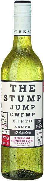 d ArenbergThe Stump Jump white blend Jg. 2017 Cuvee aus 46% Riesling, 34% Sauvignon Blanc, 20% MarsanneAustralien Mc Laren Vale d Arenberg