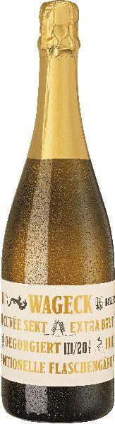 Wageck Pfaffmann.Wageck Cuvee Sekt extra Brut Jg. 2013 Cuvee aus 60% Chardonnay, 20% Pinot Noir, 20% Pinot MeunierSekt Wageck Pfaffmann.