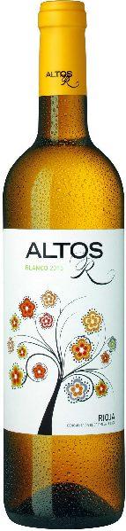 Altos Blanco Jg. 2016-17 Cuvee aus 60% Viura, 40% MalvasiaSpanien Rioja Altos