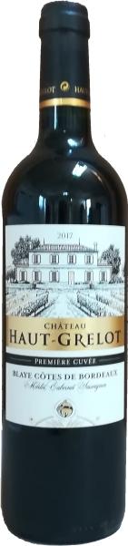 Cht. Haut GrelotBlaye - Cotes de Bordeaux AOVRouge AOC Chateauabfüllung Jg. 2015 80 % Merlot, 20 % Cabernet SauvignonFrankreich Bordeaux Cht. Haut Grelot