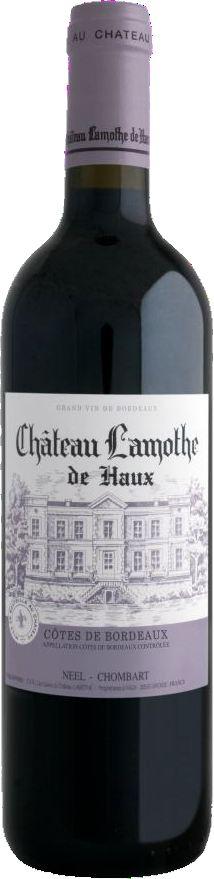 Cht. LamotheChateau Lamothe de Haux, Cotes de Bordeaux  AOP Jg. 2014Frankreich Bordeaux Cht. Lamothe