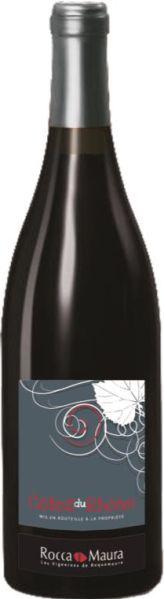 Vignerons de RoquemaureCotes du Rhone AOC  Jg. 2015 , 55% Grenache, 35% Syrah, 5% Cinsault, 5% CarignanFrankreich Rhone Vignerons de Roquemaure