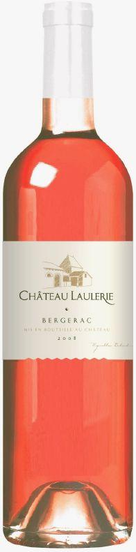 Cht. LaulerieChateau Laulerie Rose Bergerac  AOC Chateauabfüllung Jg. 2016  50 % Cabernet Sauvignon, 20 % Cabernet Franc, 15 % Merlot, 15 % MalbecFrankreich Bergerac Cht. Laulerie
