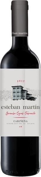 Esteban Martin Crianza Jg. 2014 45% Garnacha, 15% Syrah, 40% Tempranillo 7 Monate BarriqueausbauSpanien Carinena Esteban Martin