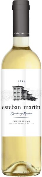 Esteban Martin Blanco Jg. 2015 70% Chardonnay, 30 % MacabeoSpanien Carinena Esteban Martin