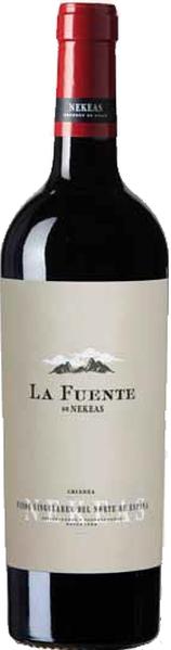 NekeasCrianza La Fuente  Jg. 2013-14, neue Aussttaung, 50% Cabernet Sauvignon, 50% TempranilloSpanien Navarra Nekeas