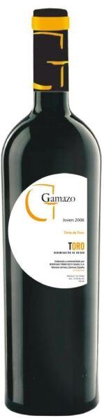 Francisco CasasGamazo Tinto D.O. Toro Jg. 2012 100 % Tinta de Toro ( Tempranillo)Spanien Rueda Francisco Casas