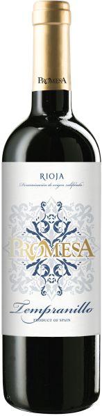 PromesaVina  Rioja Tempranillo Tinto Jg. 2019 100% TempranilloSpanien Rioja Promesa