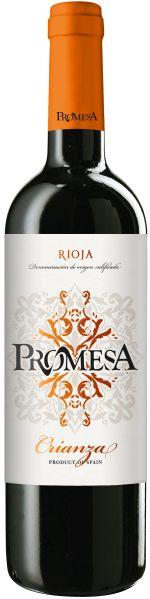 PromesaVina  Rioja Crianza Jg. 2017 100% Tempranillo 12 Monate in amerikanischen Barriques gereiftSpanien Rioja Promesa