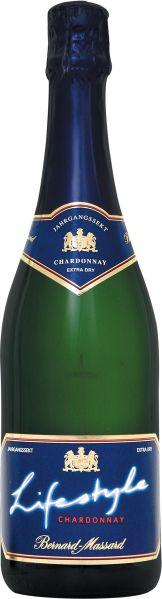 Bernard MassardLifestyle Chardonnay Extra Dry Jahrgangssekt grüne FlascheSekt Bernard Massard
