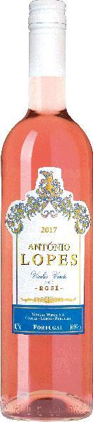 Antonio LopesVinho Verde Rose Jg. 2016-17 Cuvee aus Touriga nacional, EspadeiroPortugal Po.Sonstige Antonio Lopes