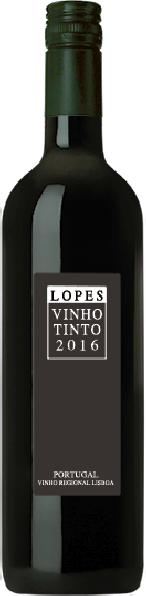Antonio LopesLopes Vinho Tinto Regional Lisboa Jg. 2016Portugal Po.Sonstige Antonio Lopes