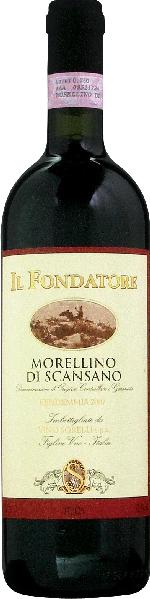 Morellino di ScansanoMorellino di Scansano DOCG Il Fondatore Jg. 2007Italien Toskana Morellino di Scansano