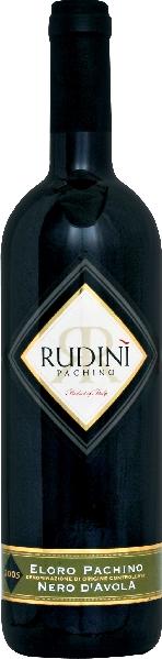 RudiniEloro Pachino Nero d Avola DOC Jg. 2011Italien Sizilien Rudini