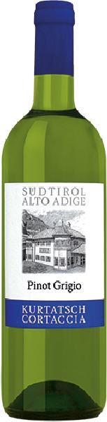 Kurtatsch Pinot Grigio Jg. 2014-15Italien Südtirol Kurtatsch