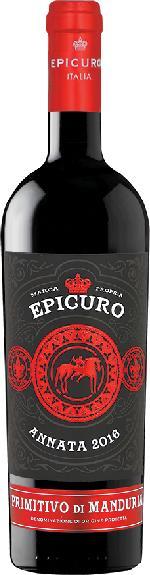 Epicuro Primitivo di Manduria DOC Jg. 2016Italien Abruzzen Epicuro
