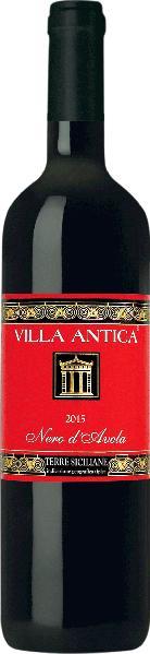Villa AnticaNero d Avola IGT Sicilia  Jg. 2013-15Italien Sizilien Villa Antica