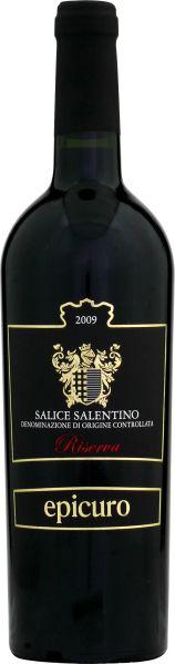 EpicuroSalice Salentino DOC Riserva Jg. 2012 Cuvee aus Negroamaro, Malvasia NeraItalien Abruzzen Epicuro