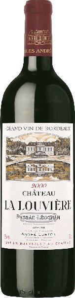 Cht. La LouviereChateau La Louviere Graves AC Pessac Leognan Jg. 2000Frankreich Bordeaux Graves Cht. La Louviere