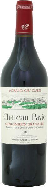 BordeauxChateau Pavie 1er Grand Cru Classe St. Emilion Jg. 2001Frankreich Bordeaux