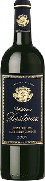 Cht. DestieuxChateau Destieux Grand Cru Classe St. Emilion Jg. 2007 Cuvee aus Merlot, Cabernet Sauvignon, Cabernet FrancFrankreich Bordeaux Cht. Destieux