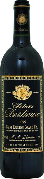 Cht. DestieuxChateau Destieux Grand Cru Classe St. Emilion Jg. 1995Frankreich Bordeaux Cht. Destieux