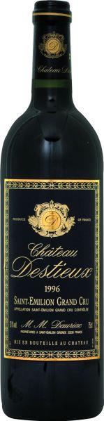 Cht. DestieuxChateau Destieux Grand Cru Classe St. Emilion Jg. 1996Frankreich Bordeaux Cht. Destieux