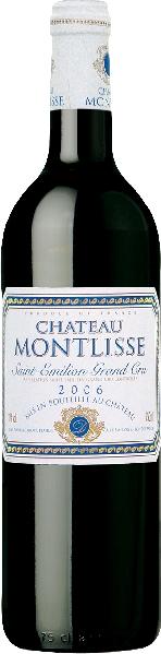 BordeauxChateau Montlisse Grand Cru St. Emilion Jg. 2006Frankreich Bordeaux